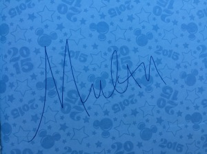 Mulan-Autograph