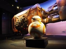 BB8 and Rey's Speeder